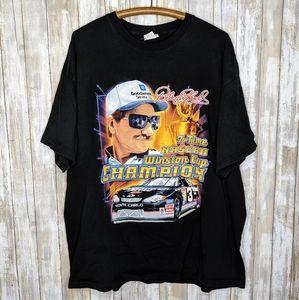 Vintage Dale Earnhardt Sr 2XL T-shirt Double Sided